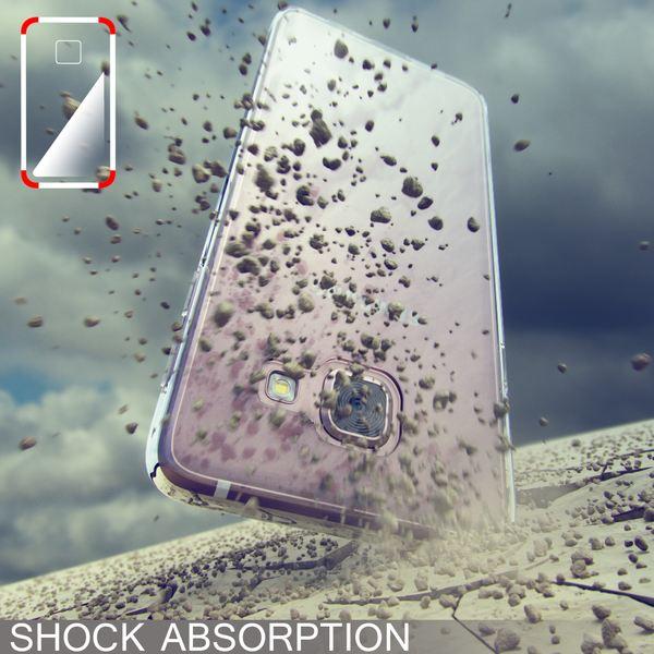 NALIA Handyhülle kompatibel mit Samsung Galaxy A3 2017, Ultra-Slim Silikon Motiv Case Cover Crystal Schutzhülle Dünn Durchsichtig, Etui Handy-Tasche Schale Back-Cover Smart-Phone Bumper - Transparent – Bild 6