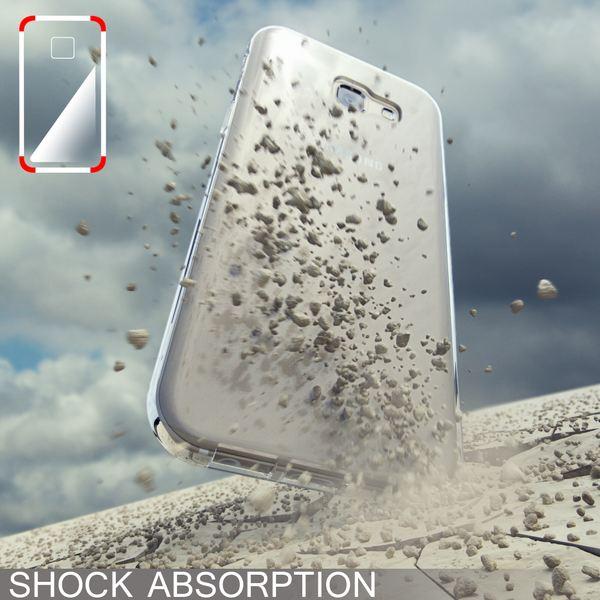 NALIA Handyhülle kompatibel mit Samsung Galaxy A5 2017, Slim Hülle Silikon Case Cover Crystal Clear Schutzhülle Dünn Durchsichtig, Etui Handy-Tasche Back-Cover Schutz Smart-Phone Bumper - Transparent – Bild 7