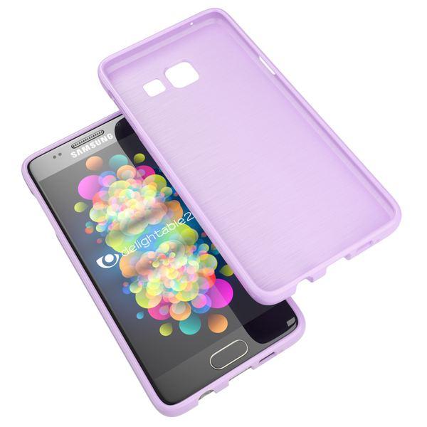 NALIA Handyhülle kompatibel mit Samsung Galaxy A3 2017, Ultra-Slim TPU Silikon Jelly Case, Dünne Gummi Schutzhülle Skin, Etui Handy-Tasche Telefon-Schale Thin Back-Cover Smart-Phone Bumper - Lila – Bild 6