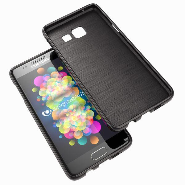 NALIA Handyhülle kompatibel mit Samsung Galaxy A5 2017, Ultra-Slim TPU Silikon Jelly Case Hülle, Dünne Gummi Schutzhülle Skin, Etui Handy-Tasche Telefon-Schale Back-Cover Smart-Phone Bumper - Schwarz – Bild 7