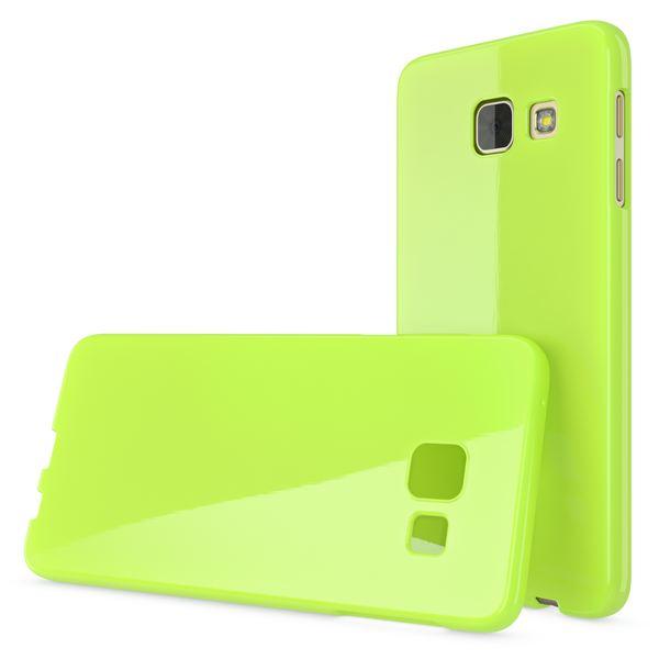NALIA Handyhülle kompatibel mit Samsung Galaxy A5 2017, Ultra-Slim TPU Silikon Jelly Case Hülle, Dünne Gummi Schutzhülle Skin, Etui Handy-Tasche Telefon-Schale Back-Cover Smart-Phone Bumper - Grün – Bild 5