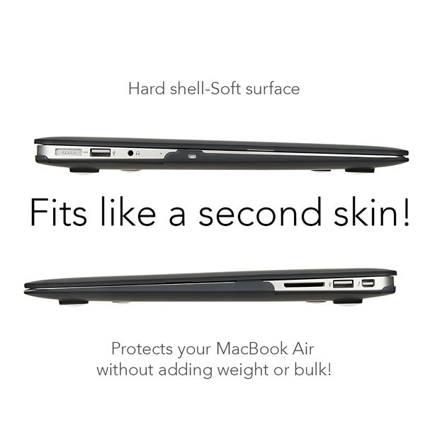 NALIA Hardcase kompatibel mit Macbook Air 13 Zoll (2015), Ultra-Slim Case Hülle Cover Schutzhülle Matt, Transparent Protector Sleeve Hartschale, Front& Backcover Laptop Tasche Skin Dünn – Bild 19