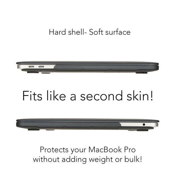 NALIA Hardcase Hülle für Macbook Pro 13 Zoll 2016, Ultra-Slim Case Schutzhülle Matt, Transparent Protector Sleeve Hartschale, Front& Back-Cover Laptop Tasche Skin Dünn Durchsichtig  – Bild 4
