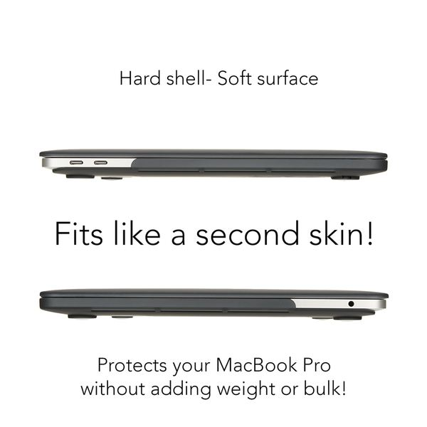 NALIA Hardcase Hülle für Macbook Pro 13 Zoll 2016, Ultra-Slim Case Schutzhülle Matt, Transparent Protector Sleeve Hartschale, Front& Back-Cover Laptop Tasche Skin Dünn Durchsichtig  – Bild 18