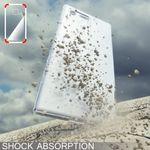 NALIA Handyhülle kompatibel mit Sony Xperia X Compact, Ultra-Slim Silikon Case, Dünne Crystal Schutzhülle, Etui Handy-Tasche Back-Cover Bumper, TPU Phone Gummihülle - Transparent Weiß – Bild 6