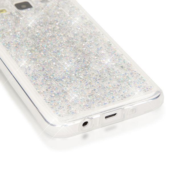 NALIA Handyhülle kompatibel mit Samsung Galaxy A3 2015, Glitzer Sterne Hülle Slim Silikon-Case Back-Cover Schutzhülle, Glitter Stars Handy-Tasche, Dünnes Bling Strass Phone Etui – Bild 25
