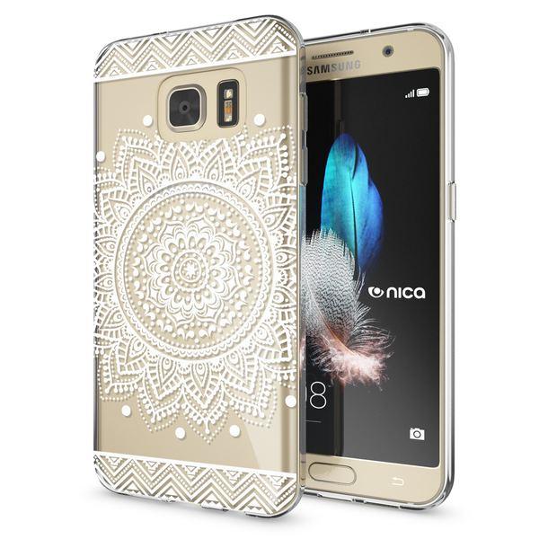 NALIA Handyhülle kompatibel mit Samsung Galaxy S7, Slim Silikon Motiv Case Hülle Crystal Schutzhülle Dünn Durchsichtig, Etui Handy-Tasche Back-Cover Transparent Bumper – Bild 20