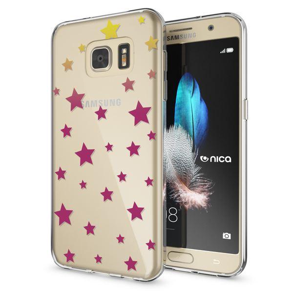 NALIA Handyhülle kompatibel mit Samsung Galaxy S7, Slim Silikon Motiv Case Hülle Crystal Schutzhülle Dünn Durchsichtig, Etui Handy-Tasche Back-Cover Transparent Bumper – Bild 2