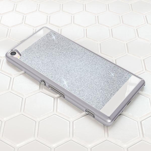 NALIA Handyhülle kompatibel mit Sony Xperia XA, Glitzer Slim Hard-Case Back-Cover Schutzhülle, Handy-Tasche im Glitter Design, Dünnes Bling Strass Etui Smart-Phone Skin  – Bild 17