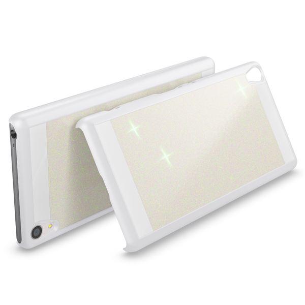 NALIA Handyhülle kompatibel mit Sony Xperia XA, Glitzer Slim Hard-Case Back-Cover Schutzhülle, Handy-Tasche im Glitter Design, Dünnes Bling Strass Etui Smart-Phone Skin  – Bild 19