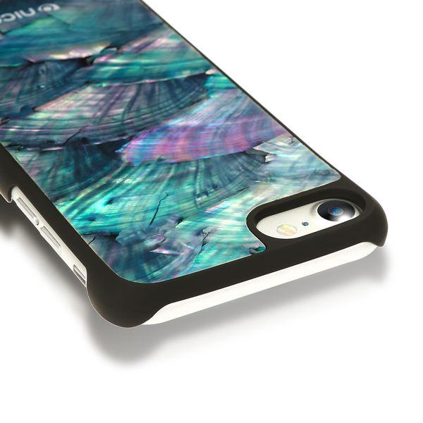 NALIA Muschel Handyhülle für Apple iPhone 8 / 7, Echtes Perlmutt Slim Case Schutz-Hülle 3D Hardcase Dünner Glitzer Handmade Bumper Cover Etui Backcover Handy-Tasche für iPhone 7 / 8 – Bild 18