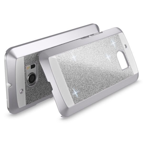 NALIA Handyhülle kompatibel mit HTC 10, Glitzer Slim Hard-Case Back-Cover Schutzhülle, Bumper Handy-Tasche im Glitter Sparkle Design Dünnes Bling Strass Etui Stoßfestes Smart-Phone – Bild 19