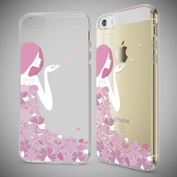 NALIA Handyhülle kompatibel mit iPhone SE 5 5S, Ultra-Slim Silikon Motiv Case Schutzhülle Dünn Durchsichtig, Etui Handy-Tasche Schale Back-Cover Transparent Smart-Phone – Bild 7
