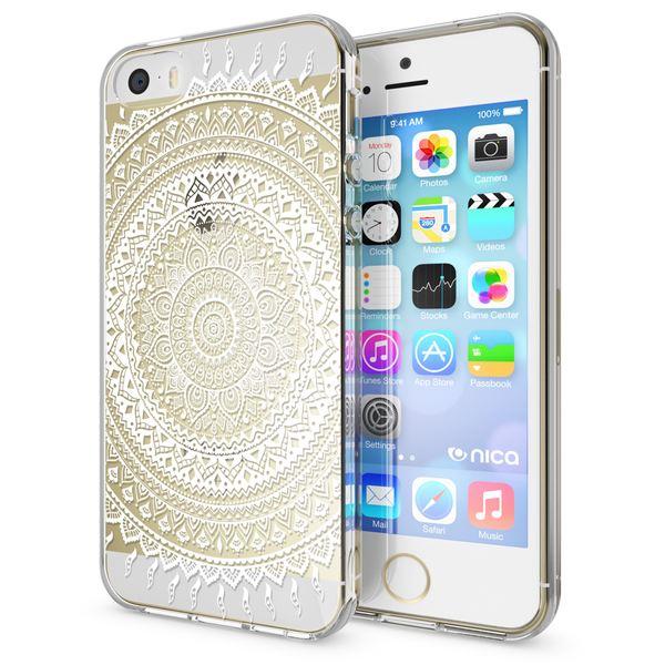 NALIA Handyhülle kompatibel mit iPhone SE 5 5S, Ultra-Slim Silikon Motiv Case Schutzhülle Dünn Durchsichtig, Etui Handy-Tasche Schale Back-Cover Transparent Smart-Phone – Bild 10