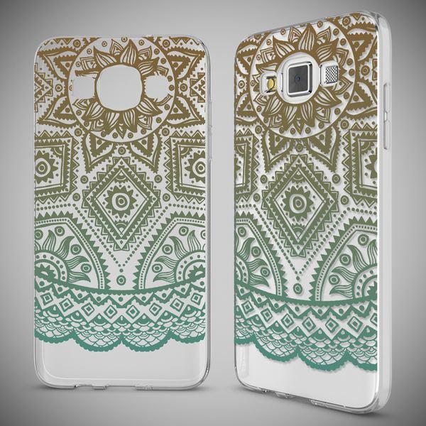NALIA Handyhülle kompatibel mit Samsung Galaxy A5 2015, Slim Silikon Motiv Case Hülle Cover Crystal Dünn Durchsichtig Etui Handy-Tasche Backcover Transparent Phone Bumper – Bild 13