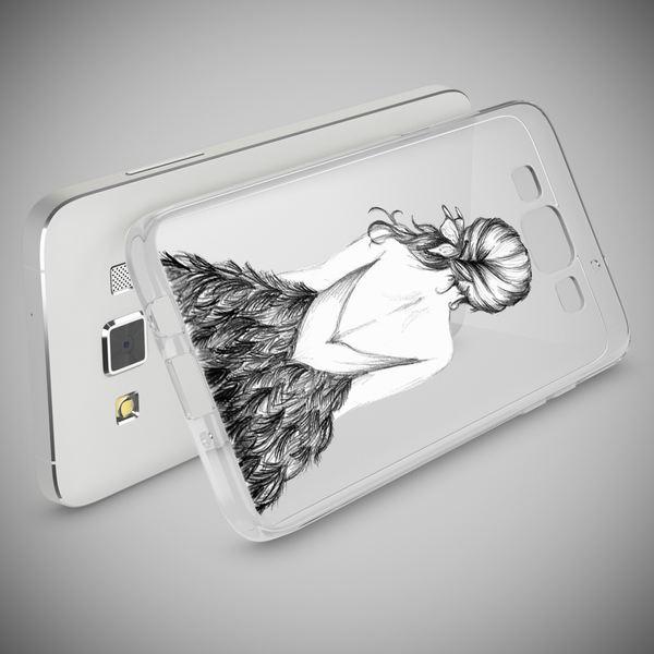 NALIA Handyhülle kompatibel mit Samsung Galaxy A5 2015, Slim Silikon Motiv Case Hülle Cover Crystal Dünn Durchsichtig Etui Handy-Tasche Backcover Transparent Phone Bumper – Bild 15