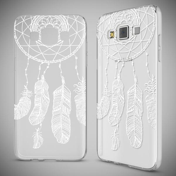 NALIA Handyhülle kompatibel mit Samsung Galaxy A5 2015, Slim Silikon Motiv Case Hülle Cover Crystal Dünn Durchsichtig Etui Handy-Tasche Backcover Transparent Phone Bumper – Bild 19