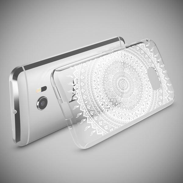 NALIA Handyhülle kompatibel mit HTC 10, Slim Silikon Motiv Case Cover Crystal Schutzhülle Dünn Durchsichtig, Etui Handy-Tasche Backcover Transparent Smartphone Bumper – Bild 9
