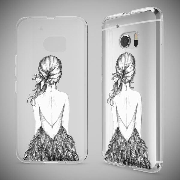 NALIA Handyhülle kompatibel mit HTC 10, Slim Silikon Motiv Case Cover Crystal Schutzhülle Dünn Durchsichtig, Etui Handy-Tasche Backcover Transparent Smartphone Bumper – Bild 16