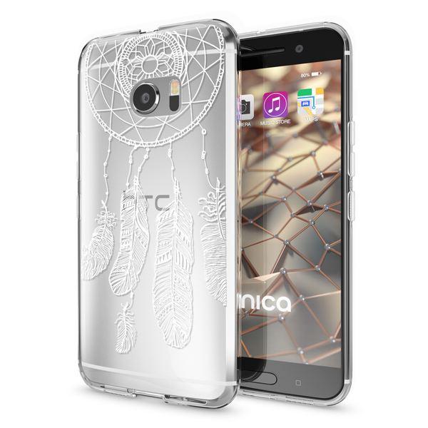 NALIA Handyhülle für HTC 10, Slim Silikon Motiv Case Cover Crystal Schutzhülle Dünn Durchsichtig, Etui Handy-Tasche Backcover Transparent Bumper für HTC10 Smartphone – Bild 17