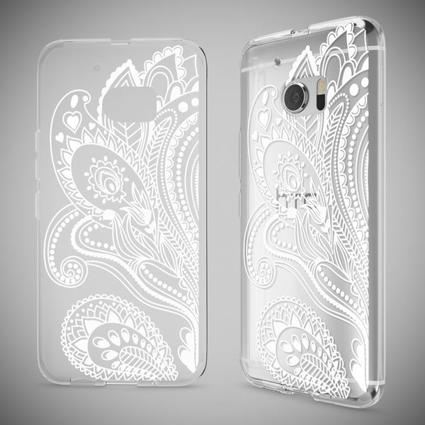 NALIA Handyhülle für HTC 10, Slim Silikon Motiv Case Cover Crystal Schutzhülle Dünn Durchsichtig, Etui Handy-Tasche Backcover Transparent Bumper für HTC10 Smartphone – Bild 22