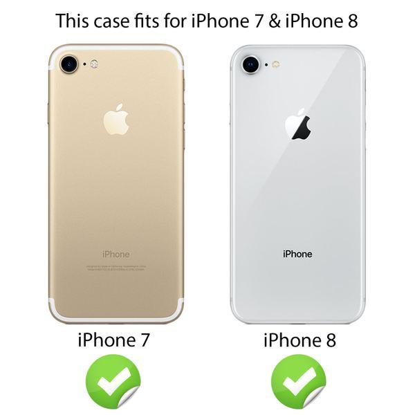 NALIA Handyhülle für iPhone 8 Plus / 7 Plus, Glitzer Slim Hard-Case Back-Cover Schutz-Hülle, Glitter Handy-Tasche, Dünnes Bling Strass Etui Skin für Apple iPhone 7 Plus / 8 Plus – Bild 20