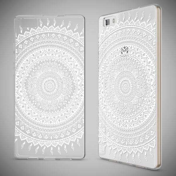 NALIA Handyhülle kompatibel mit Huawei P8 Lite, Slim Silikon Motiv Case Cover Hülle Crystal Schutzhülle Dünn Durchsichtig, Etui Handy-Tasche Back-Cover Smart-Phone Bumper – Bild 10