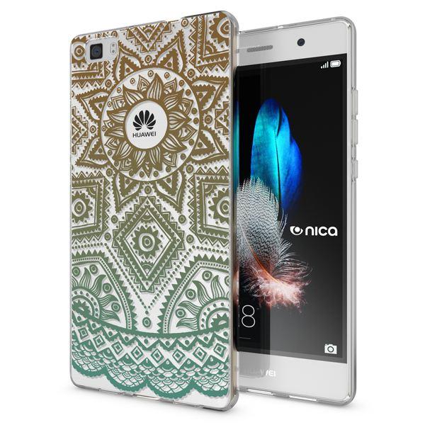 NALIA Handyhülle für Huawei P8 Lite, Slim Silikon Motiv Case Cover Hülle Crystal Schutzhülle Dünn Durchsichtig, Etui Handy-Tasche Backcover Transparent Bumper für P 8 Lite – Bild 11
