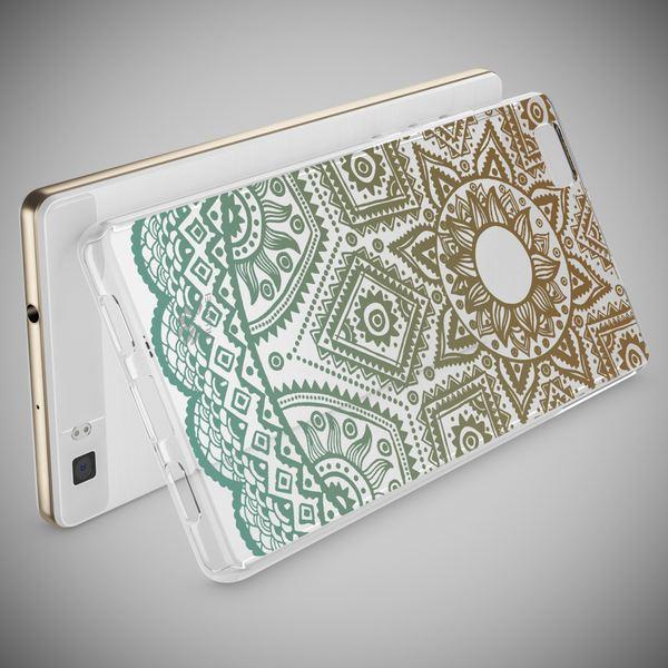 NALIA Handyhülle für Huawei P8 Lite, Slim Silikon Motiv Case Cover Hülle Crystal Schutzhülle Dünn Durchsichtig, Etui Handy-Tasche Backcover Transparent Bumper für P 8 Lite – Bild 13