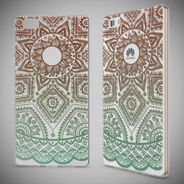 NALIA Handyhülle für Huawei P8 Lite, Slim Silikon Motiv Case Cover Hülle Crystal Schutzhülle Dünn Durchsichtig, Etui Handy-Tasche Backcover Transparent Bumper für P 8 Lite – Bild 12