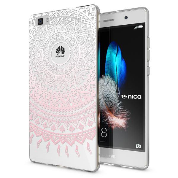 NALIA Handyhülle für Huawei P8 Lite, Slim Silikon Motiv Case Cover Hülle Crystal Schutzhülle Dünn Durchsichtig, Etui Handy-Tasche Backcover Transparent Bumper für P 8 Lite – Bild 20