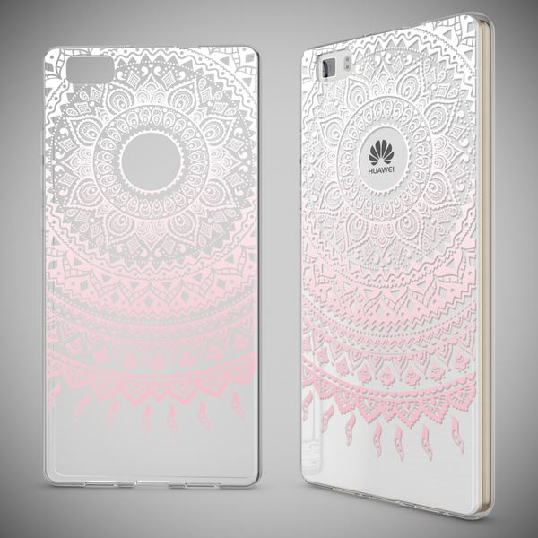 NALIA Handyhülle für Huawei P8 Lite, Slim Silikon Motiv Case Cover Hülle Crystal Schutzhülle Dünn Durchsichtig, Etui Handy-Tasche Backcover Transparent Bumper für P 8 Lite – Bild 22