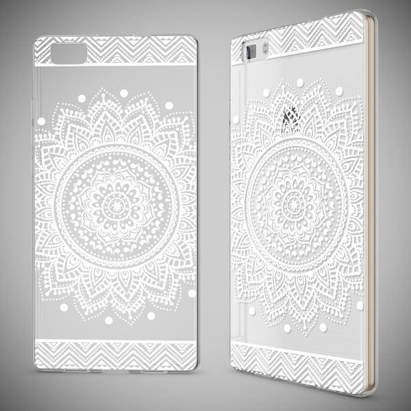 NALIA Handyhülle für Huawei P8 Lite, Slim Silikon Motiv Case Cover Hülle Crystal Schutzhülle Dünn Durchsichtig, Etui Handy-Tasche Backcover Transparent Bumper für P 8 Lite – Bild 25