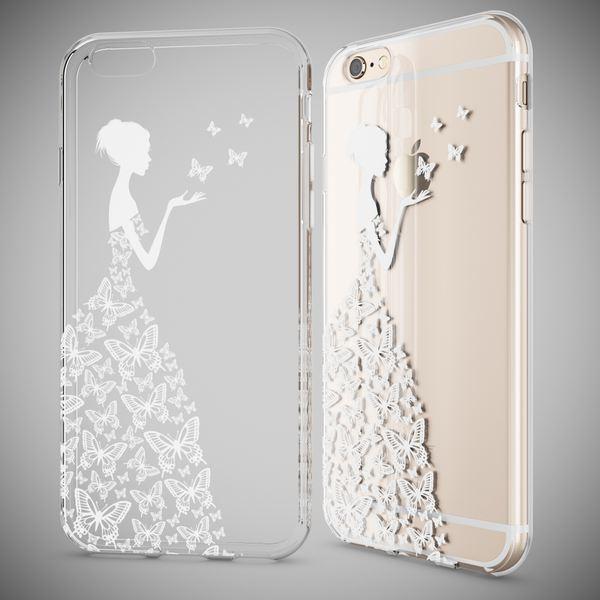 NALIA Handyhülle für Apple iPhone 6 6S, Slim Silikon Case Cover Crystal Schutz-Hülle Dünn Durchsichtig Etui Handy-Tasche Backcover Transparent Bumper für i-Phone 6 6S – Bild 6