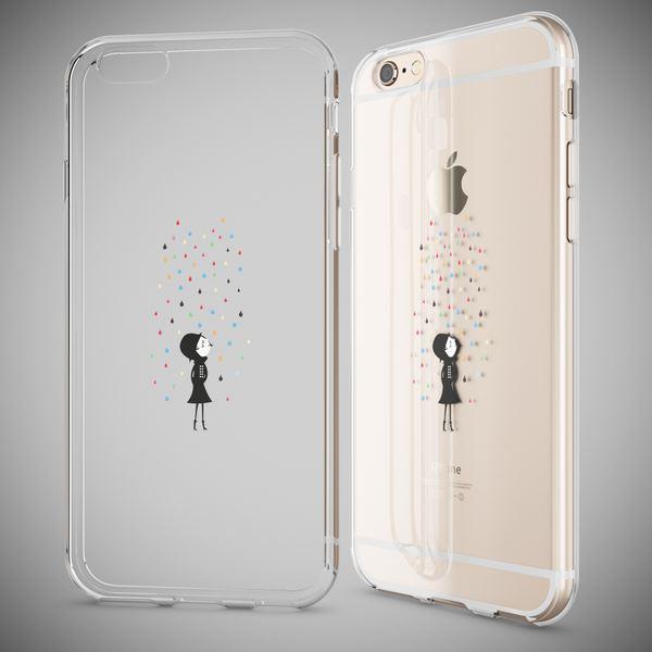 NALIA Handyhülle für Apple iPhone 6 6S, Slim Silikon Case Cover Crystal Schutz-Hülle Dünn Durchsichtig Etui Handy-Tasche Backcover Transparent Bumper für i-Phone 6 6S – Bild 11