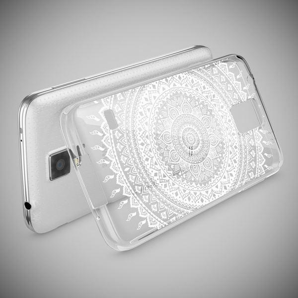 NALIA Handyhülle kompatibel mit Samsung Galaxy S5 S5 Neo, Slim Silikon Motiv Case Hülle Cover Crystal Dünn Durchsichtig, Etui Handy-Tasche Back-Cover Transparent Bumper – Bild 9