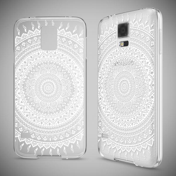 NALIA Handyhülle kompatibel mit Samsung Galaxy S5 S5 Neo, Slim Silikon Motiv Case Hülle Cover Crystal Dünn Durchsichtig, Etui Handy-Tasche Back-Cover Transparent Bumper – Bild 10