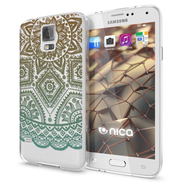 NALIA Handyhülle kompatibel mit Samsung Galaxy S5 S5 Neo, Slim Silikon Motiv Case Hülle Cover Crystal Dünn Durchsichtig, Etui Handy-Tasche Back-Cover Transparent Bumper – Bild 11