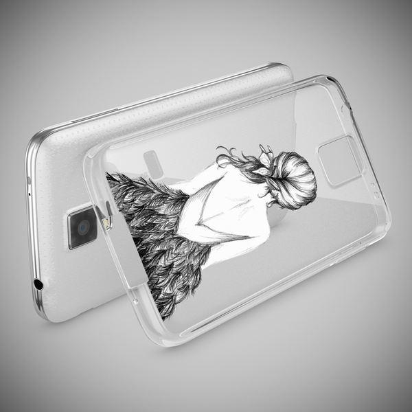 NALIA Handyhülle kompatibel mit Samsung Galaxy S5 S5 Neo, Slim Silikon Motiv Case Hülle Cover Crystal Dünn Durchsichtig, Etui Handy-Tasche Back-Cover Transparent Bumper – Bild 15
