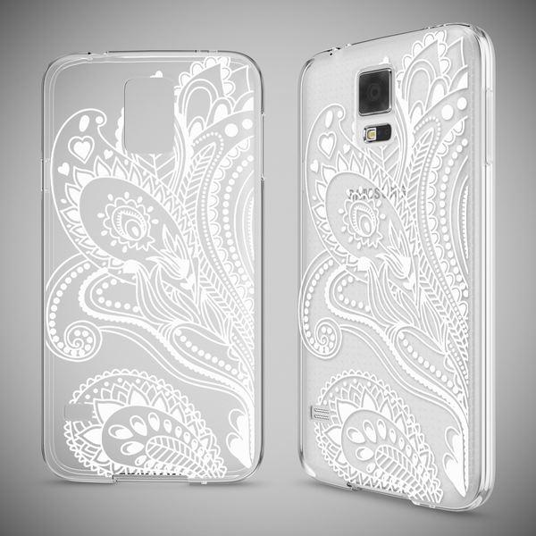 NALIA Handyhülle kompatibel mit Samsung Galaxy S5 S5 Neo, Slim Silikon Motiv Case Hülle Cover Crystal Dünn Durchsichtig, Etui Handy-Tasche Back-Cover Transparent Bumper – Bild 22