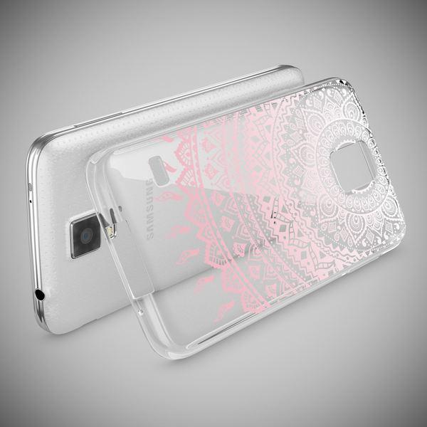 NALIA Handyhülle kompatibel mit Samsung Galaxy S5 S5 Neo, Slim Silikon Motiv Case Hülle Cover Crystal Dünn Durchsichtig, Etui Handy-Tasche Back-Cover Transparent Bumper – Bild 24