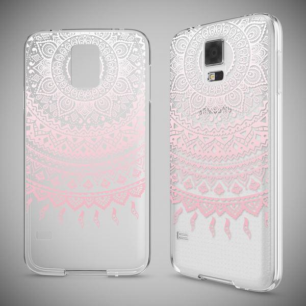 NALIA Handyhülle kompatibel mit Samsung Galaxy S5 S5 Neo, Slim Silikon Motiv Case Hülle Cover Crystal Dünn Durchsichtig, Etui Handy-Tasche Back-Cover Transparent Bumper – Bild 25