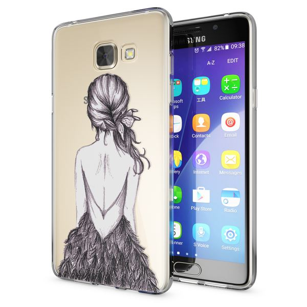 NALIA Handyhülle kompatibel mit Samsung Galaxy A5 2016, Slim Silikon Motiv Case Hülle Cover Crystal Dünn Durchsichtig Etui Handy-Tasche Backcover Transparent Phone Bumper – Bild 14