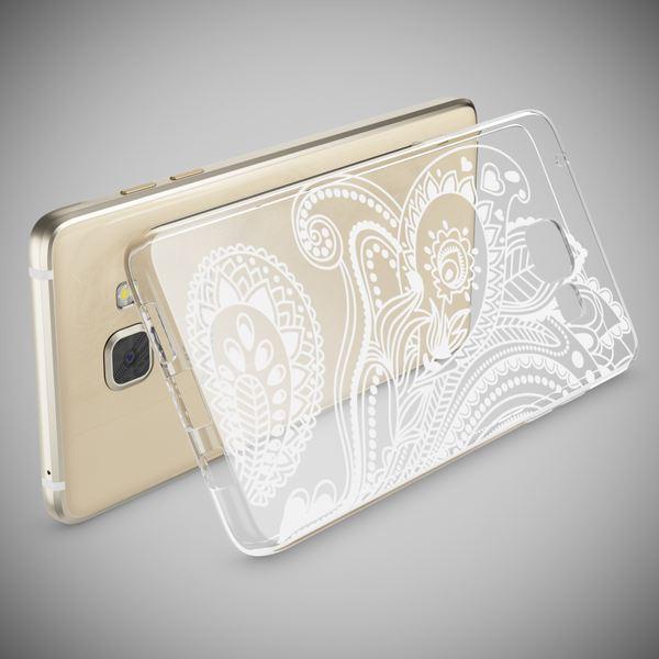 NALIA Handyhülle kompatibel mit Samsung Galaxy A5 2016, Slim Silikon Motiv Case Hülle Cover Crystal Dünn Durchsichtig Etui Handy-Tasche Backcover Transparent Phone Bumper – Bild 21