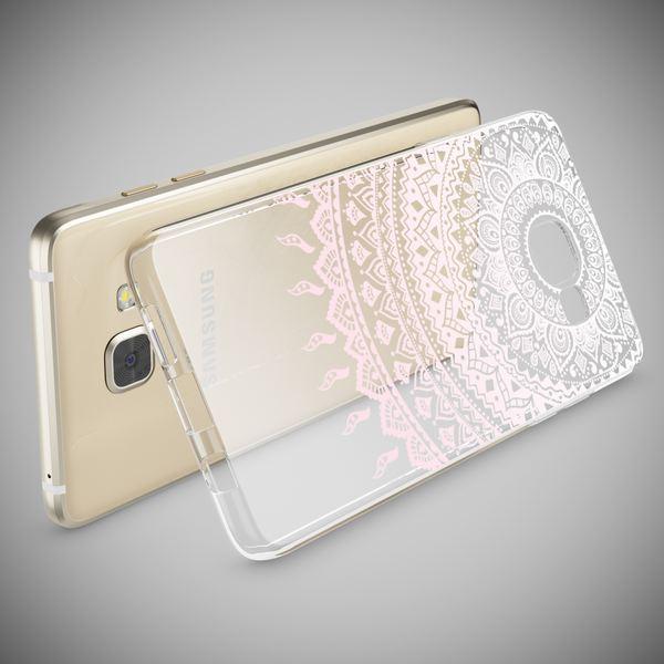NALIA Handyhülle kompatibel mit Samsung Galaxy A5 2016, Slim Silikon Motiv Case Hülle Cover Crystal Dünn Durchsichtig Etui Handy-Tasche Backcover Transparent Phone Bumper – Bild 24