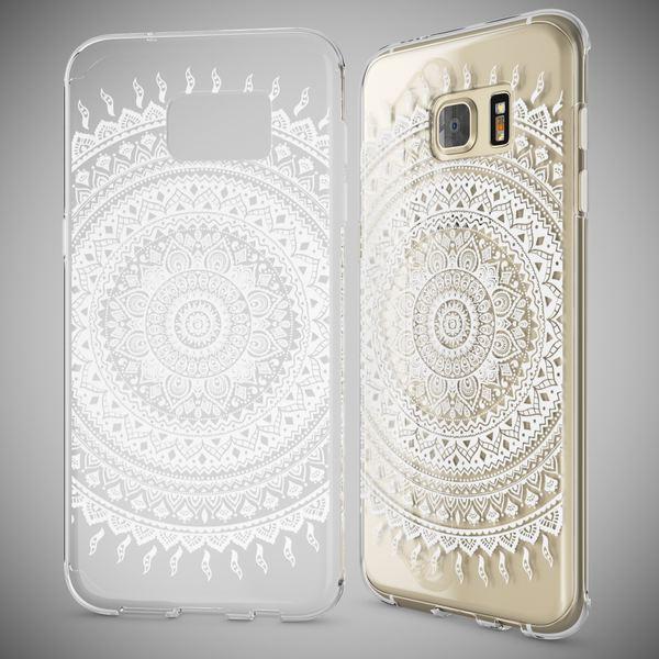 NALIA Handyhülle kompatibel mit Samsung Galaxy S7 Edge, Slim Silikon Motiv Case Hülle Cover Crystal Dünn Durchsichtig, Etui Handy-Tasche Back-Cover Transparent Bumper – Bild 10