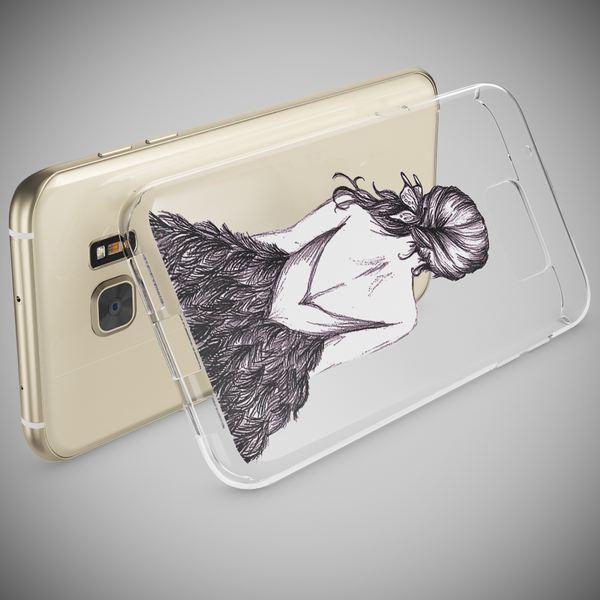 NALIA Handyhülle kompatibel mit Samsung Galaxy S7 Edge, Slim Silikon Motiv Case Hülle Cover Crystal Dünn Durchsichtig, Etui Handy-Tasche Back-Cover Transparent Bumper – Bild 15