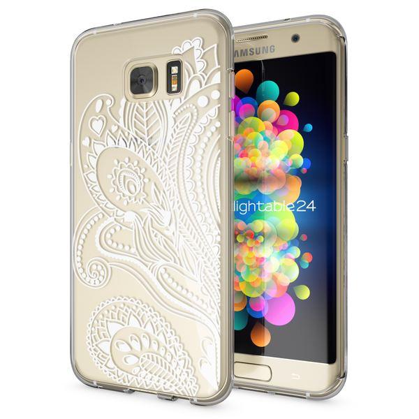 NALIA Handyhülle kompatibel mit Samsung Galaxy S7 Edge, Slim Silikon Motiv Case Hülle Cover Crystal Dünn Durchsichtig, Etui Handy-Tasche Back-Cover Transparent Bumper – Bild 20
