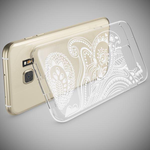 NALIA Handyhülle kompatibel mit Samsung Galaxy S7 Edge, Slim Silikon Motiv Case Hülle Cover Crystal Dünn Durchsichtig, Etui Handy-Tasche Back-Cover Transparent Bumper – Bild 21