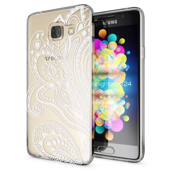 NALIA Handyhülle kompatibel mit Samsung Galaxy A3 2016, Slim Silikon Motiv Case Hülle Cover Crystal Dünn Durchsichtig Etui Handy-Tasche Backcover Transparent Phone Bumper – Bild 20